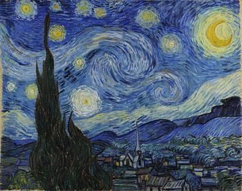 Van Gogh, Starry Night, 1889